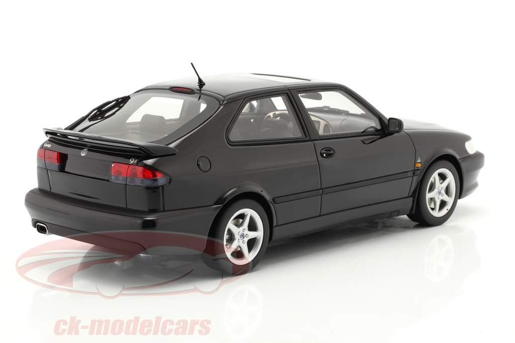 Saab 9-3 Viggen Coupe year 2000 black metallic 1:18 DNA Collectibles