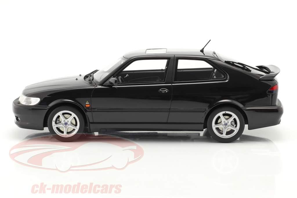 Saab 9-3 Viggen Coupe Ano de construção 2000 Preto metálico 1:18 DNA Collectibles