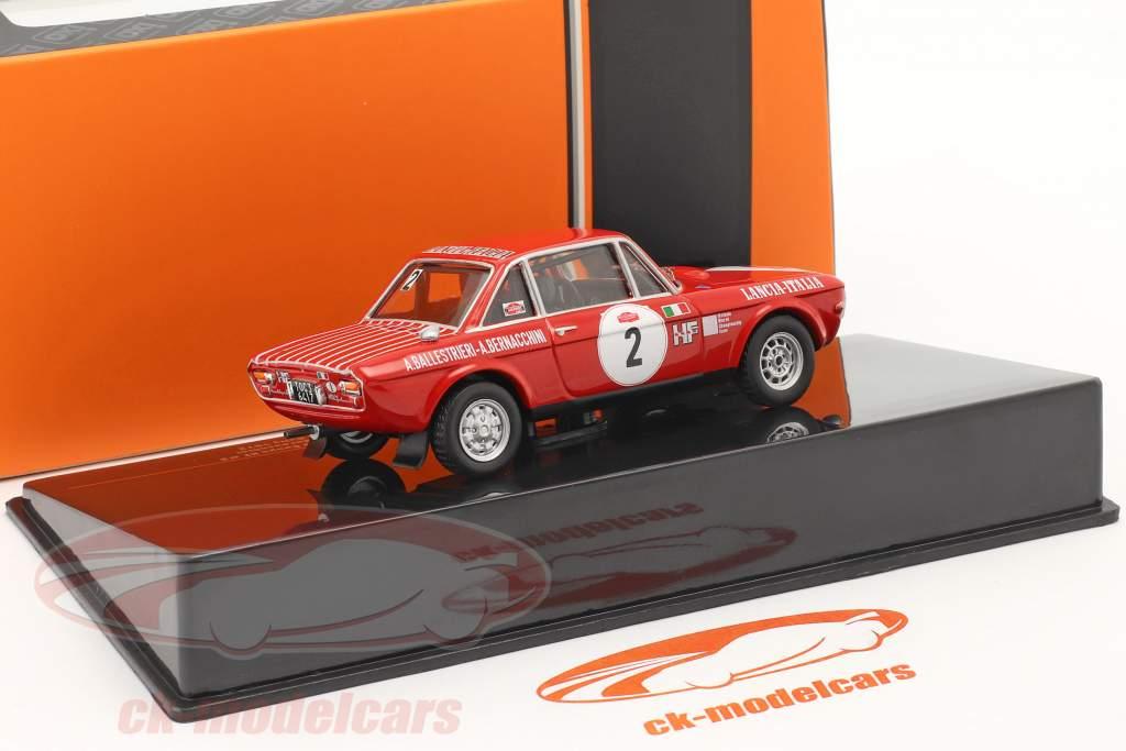 Lancia Fulvia 1600 Coupe HF #2 Ganador Rallye San Remo 1972 1:43 Ixo