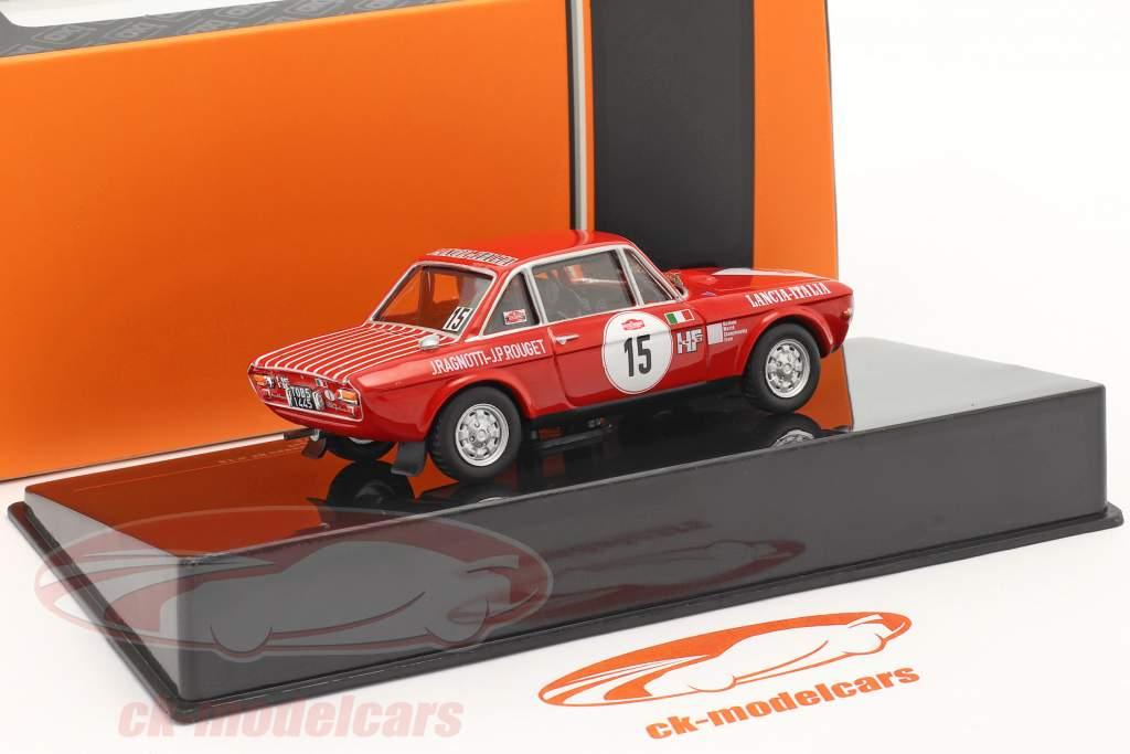 Lancia Fulvia 1600 Coupe HF #15 Rallye San Remo 1972 Ragnotti, Rouget 1:43 Ixo