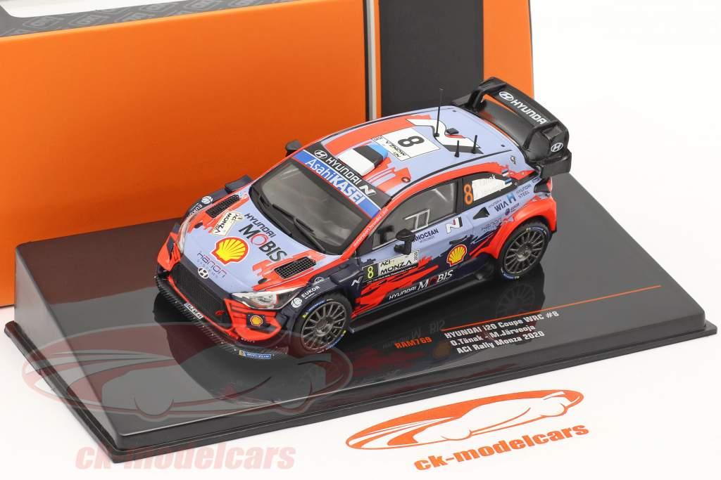 Hyundai i20 Coupe WRC #8 2. ACI Rallye Monza 2020 Tänak, Järveoja 1:43 Ixo