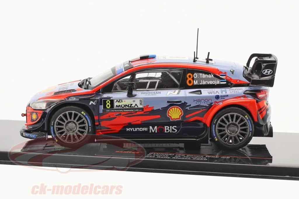 Hyundai i20 Coupe WRC #8 2do ACI Rallye Monza 2020 Tänak, Järveoja 1:43 Ixo