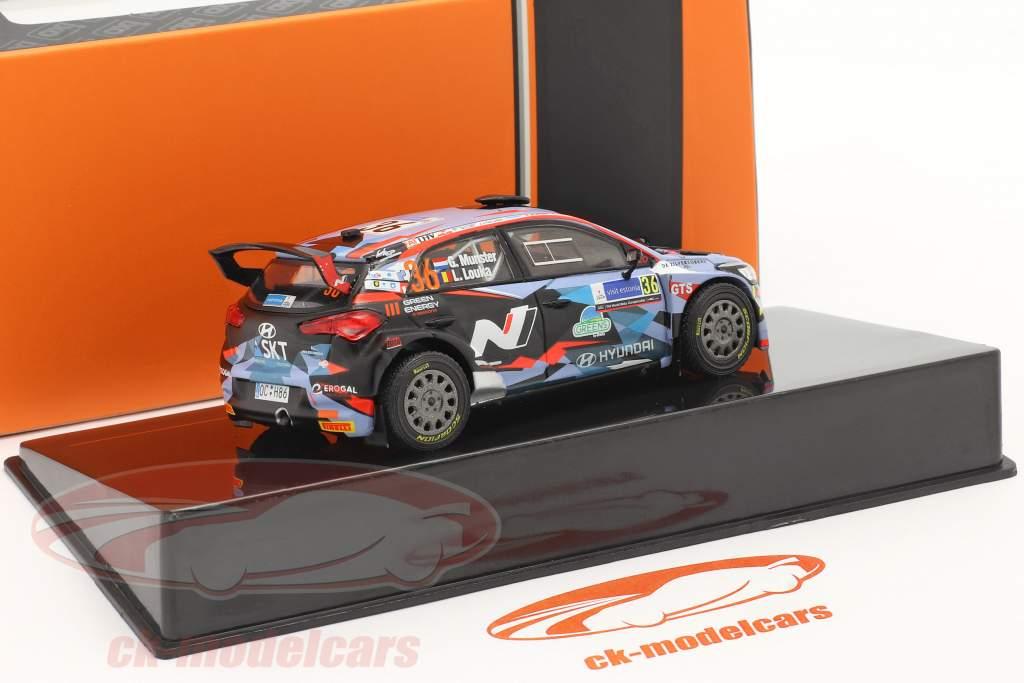 Hyundai i20 R5 #36 Rallye Estonie 2020 Munster, Louka 1:43 Ixo