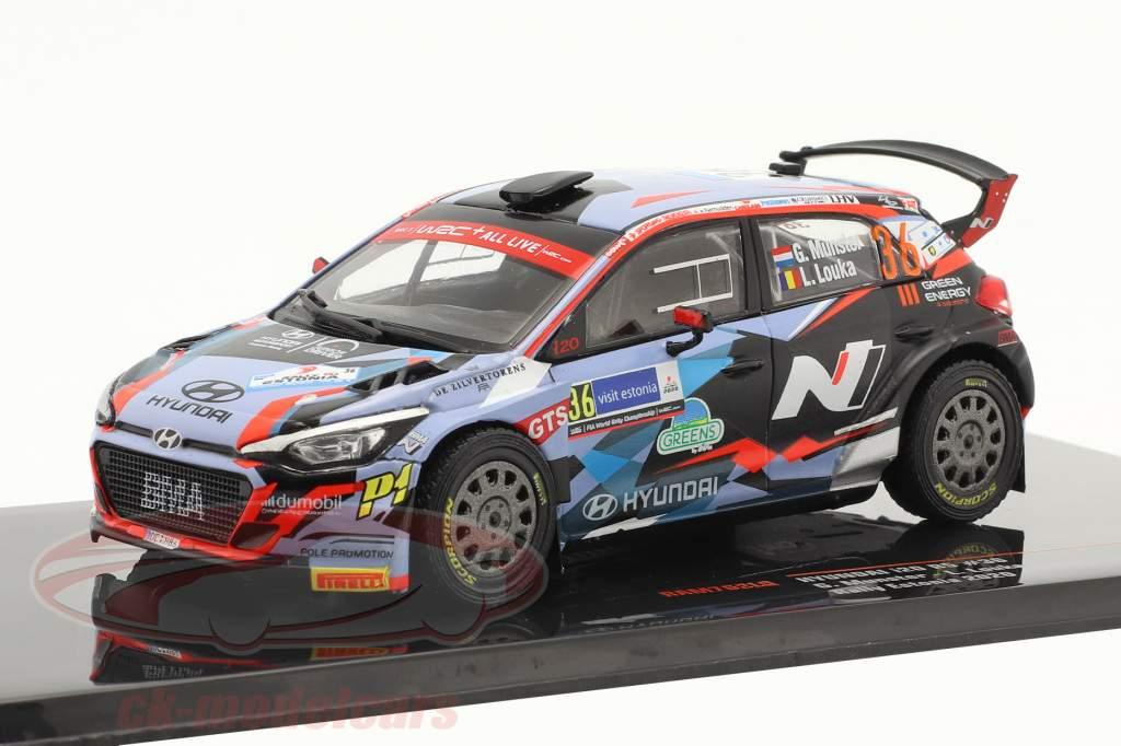 Hyundai i20 R5 #36 Rallye Estonia 2020 Munster, Louka 1:43 Ixo