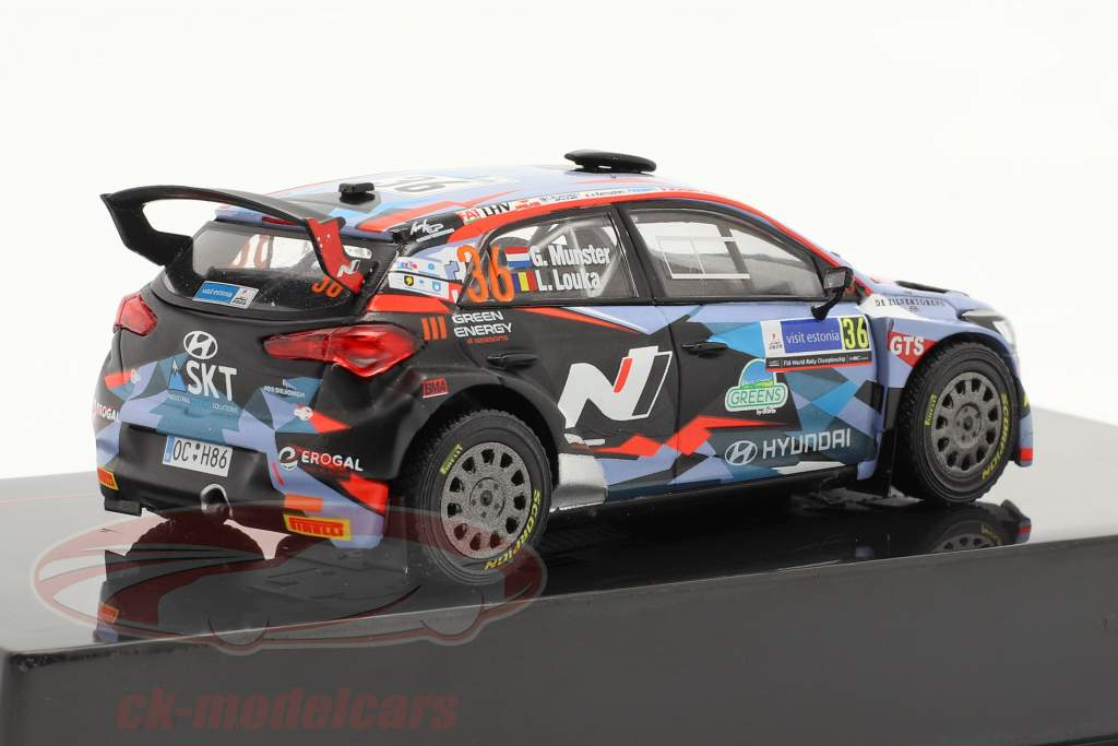 Hyundai i20 R5 #36 Rallye Estland 2020 Munster, Louka 1:43 Ixo