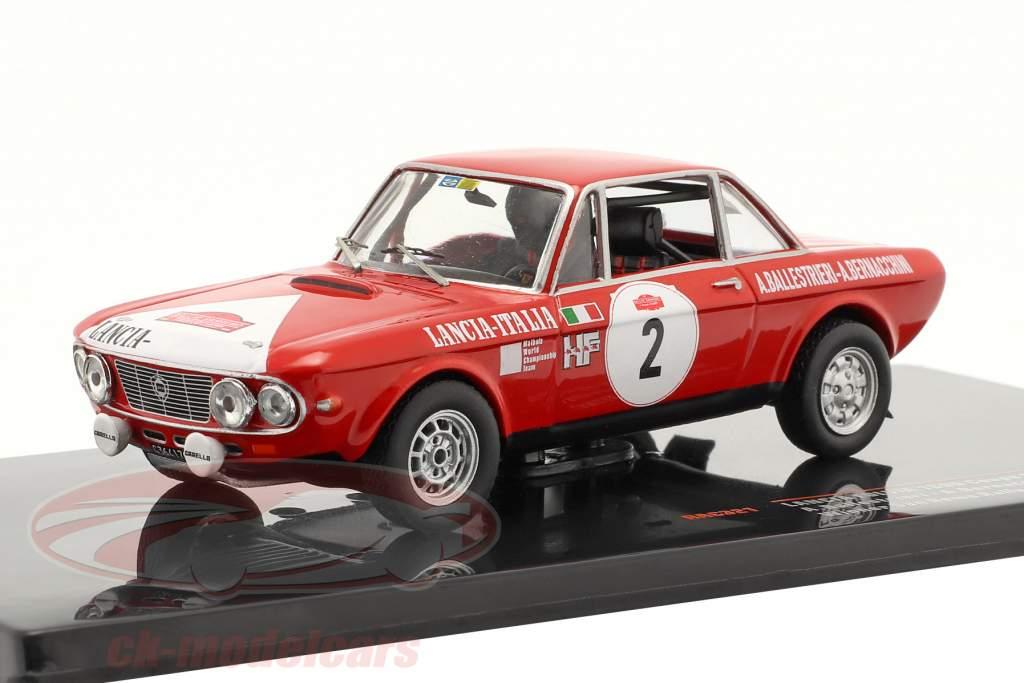 Lancia Fulvia 1600 Coupe HF #2 Vinder Rallye San Remo 1972 1:43 Ixo