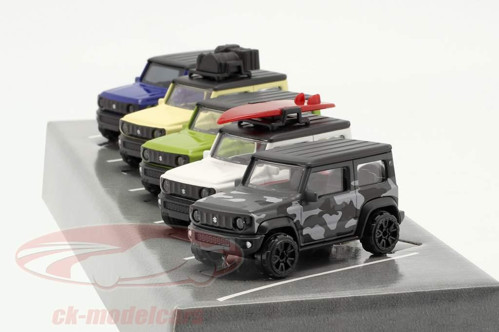 5-car set Suzuki Jimny 1:64 Majorette