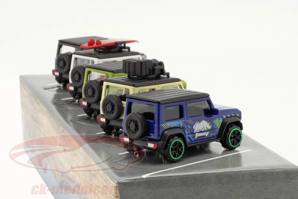 5 coches colocar Suzuki Jimny 1:64 Majorette