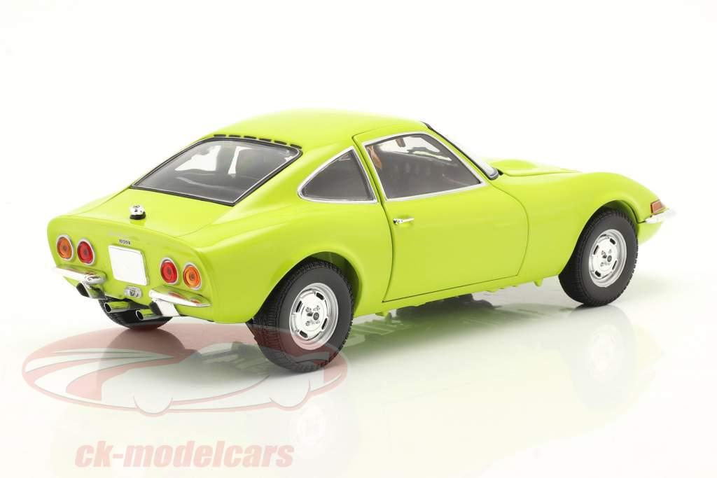 Opel GT Anno di costruzione 1970 verde chiaro 1:18 Minichamps