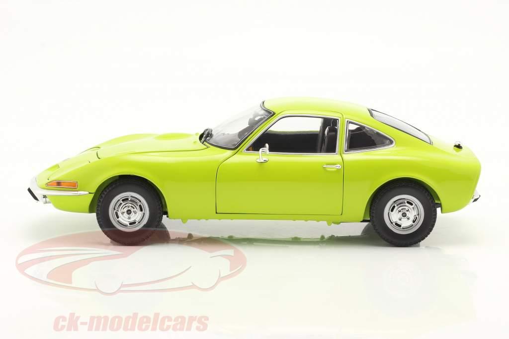 Opel GT Baujahr 1970 hellgrün 1:18 Minichamps