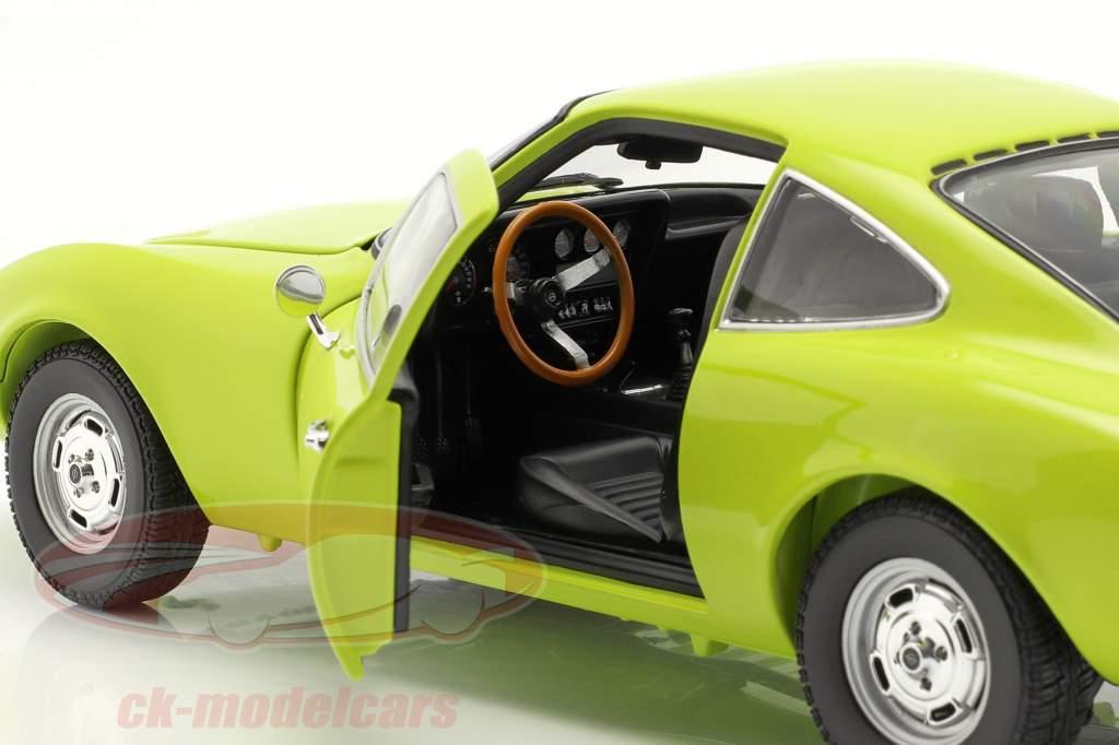 Opel GT year 1970 light green 1:18 Minichamps