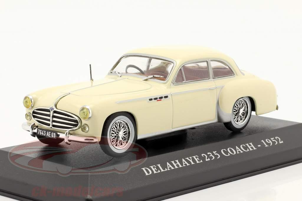 Delahaye 235 Coach Año 1952 beige 1:43 Altaya