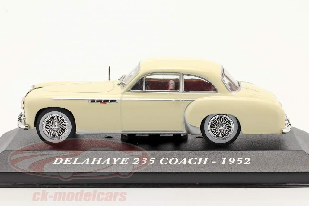 Delahaye 235 Coach Jaar 1952 beige 1:43 Altaya