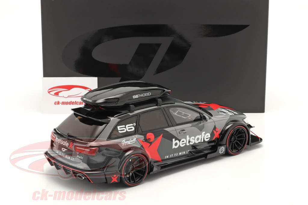 Audi RS6 C7 Avant DTM 2015 camuflar 1:18 GT-SPIRIT