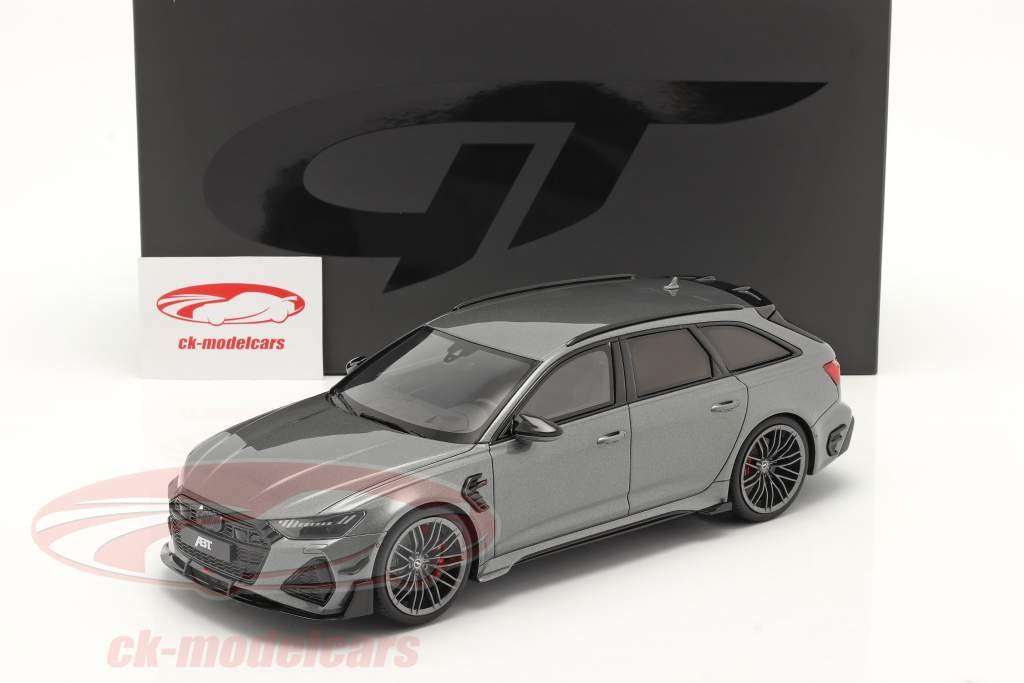 Audi A6 RS6 Avant ABT Baujahr 2020 grau metallic 1:18 GT-SPIRIT