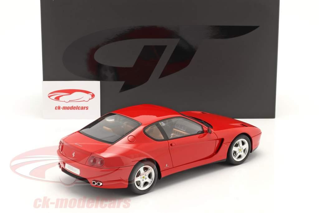 Ferrari 456 GT Ano de construção 1992 vermelho 1:18 GT-SPIRIT