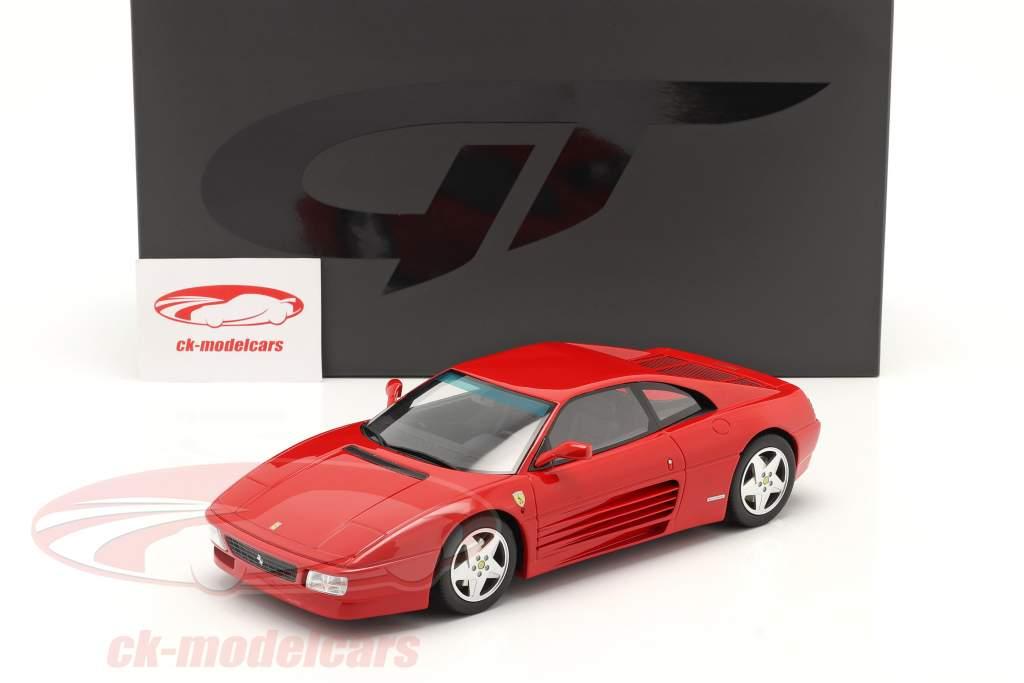 Ferrari 348 GTB Byggeår 1993 Rød 1:18 GT-SPIRIT