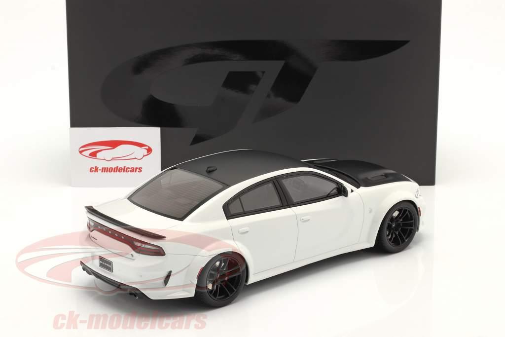 Dodge Charger SRT Hellcar Redeye bouwjaar 2021 wit 1:18 GT-SPIRIT