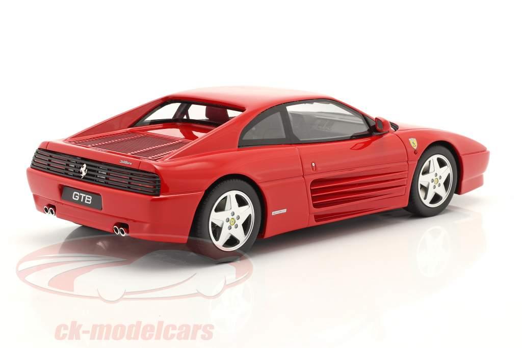 Ferrari 348 GTB Baujahr 1993 rot 1:18 GT-SPIRIT