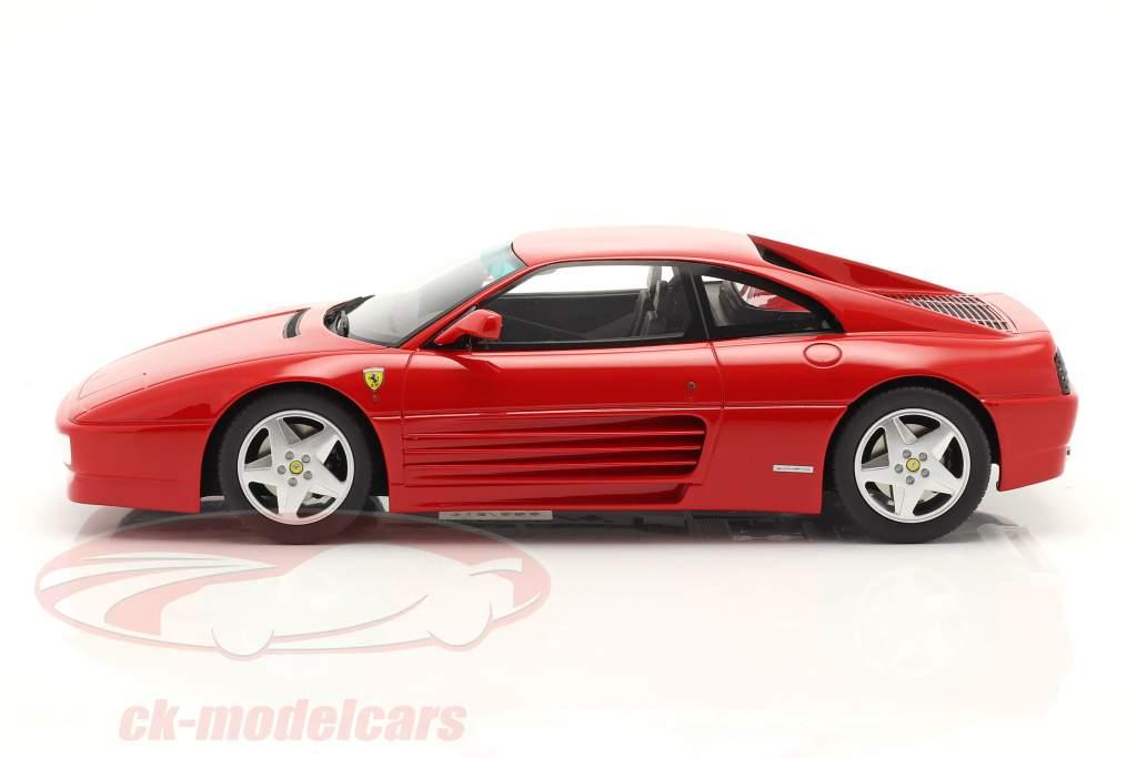 Ferrari 348 GTB Année de construction 1993 rouge 1:18 GT-SPIRIT