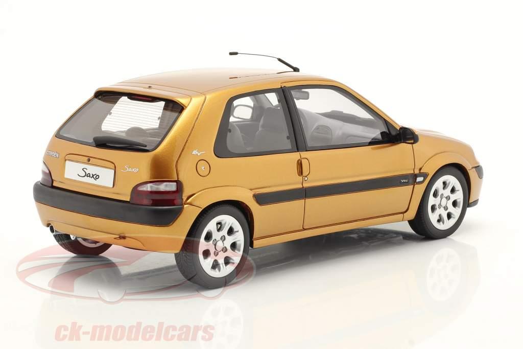 Citroen Saxo VTS Año de construcción 2000 heliodoro amarillo 1:18 OttOmobile