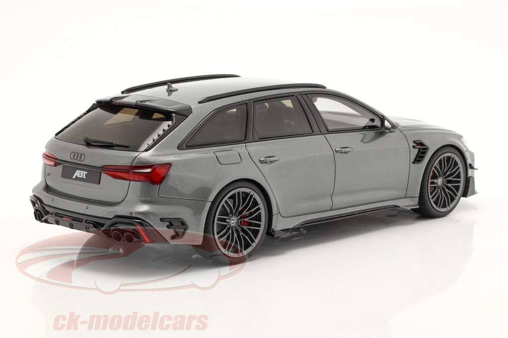 Audi A6 RS6 Avant ABT year 2020 grey metallic 1:18 GT-SPIRIT