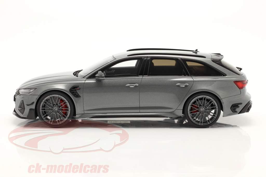 Audi A6 RS6 Avant ABT Année de construction 2020 gris métallique 1:18 GT-SPIRIT
