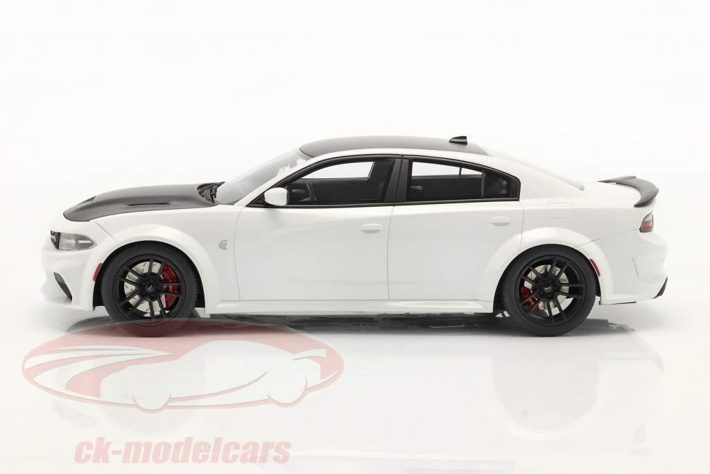 Dodge Charger SRT Hellcar Redeye Anno di costruzione 2021 bianca 1:18 GT-SPIRIT