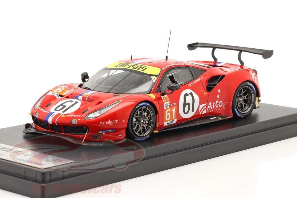 Ferrari 488 GTE Evo #61 24h LeMans 2020 Luzich Racing 1:43 LookSmart