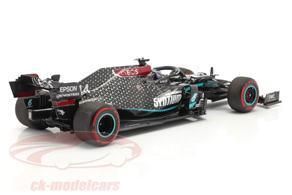 L. Hamilton Mercedes-AMG F1 W11 #44 Wereldkampioen Toscane GP F1 2020 1:18 Minichamps