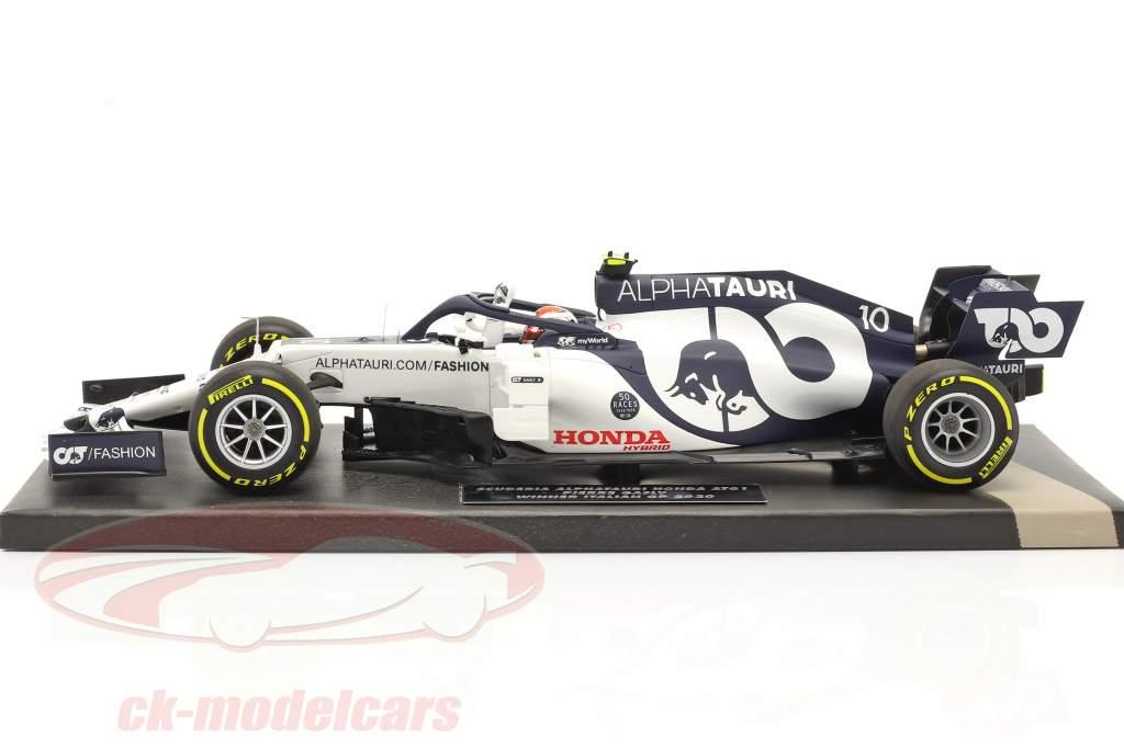 Pierre Gasly AlphaTauri AT01 #10 优胜者 意大利 GP F1 2020 1:18 Minichamps