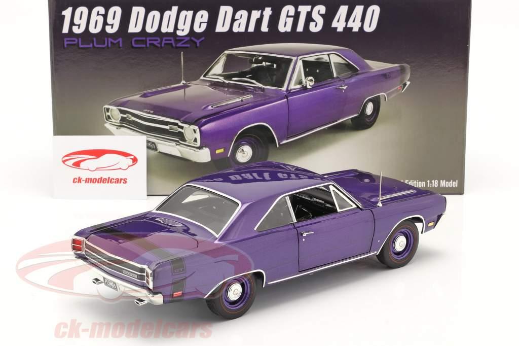 Dodge Dart GTS 440 year 1969 purple 1:18 GMP