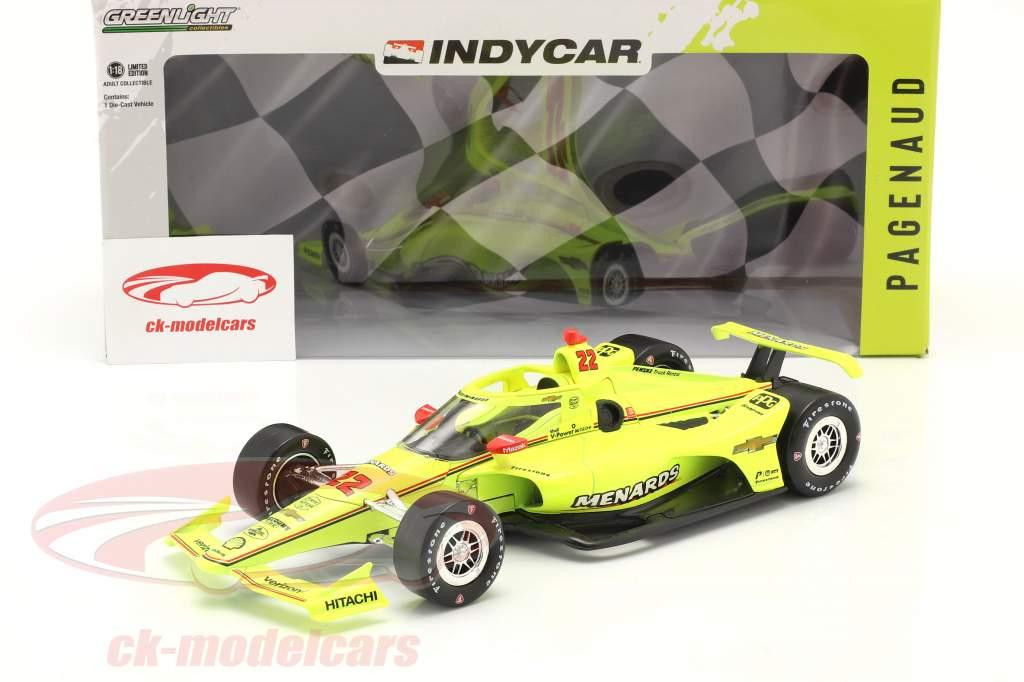 Simon Pagenaud Chevrolet #22 IndyCar Series 2021 1:18 Greenlight