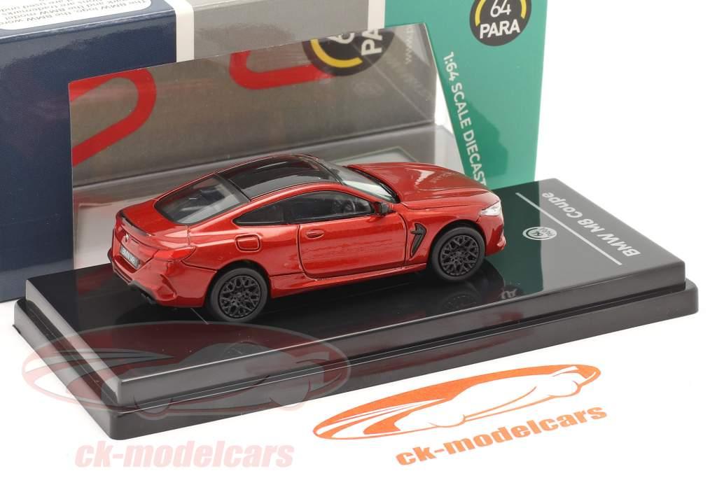 BMW M8 Coupe RHD Anno di costruzione 2018 motegi rosso 1:64 Paragon Models