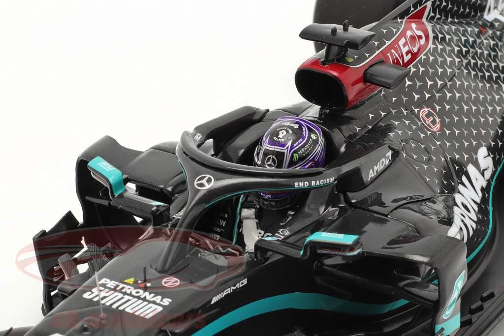 Hamilton Mercedes-AMG F1 W11 #44 91st Win Eifel GP Fórmula 1 2020 1:18 Minichamps