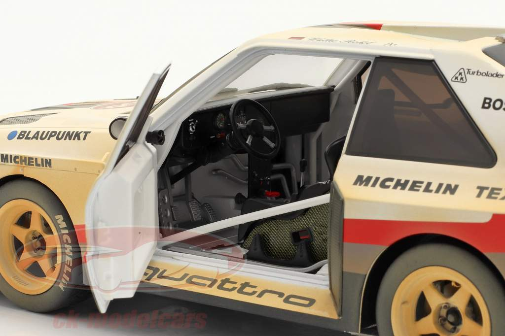 Audi Sport quattro S1 E2 #1 Winner Pikes Peak 1987 Röhrl Dirty Version 1:18 CMR