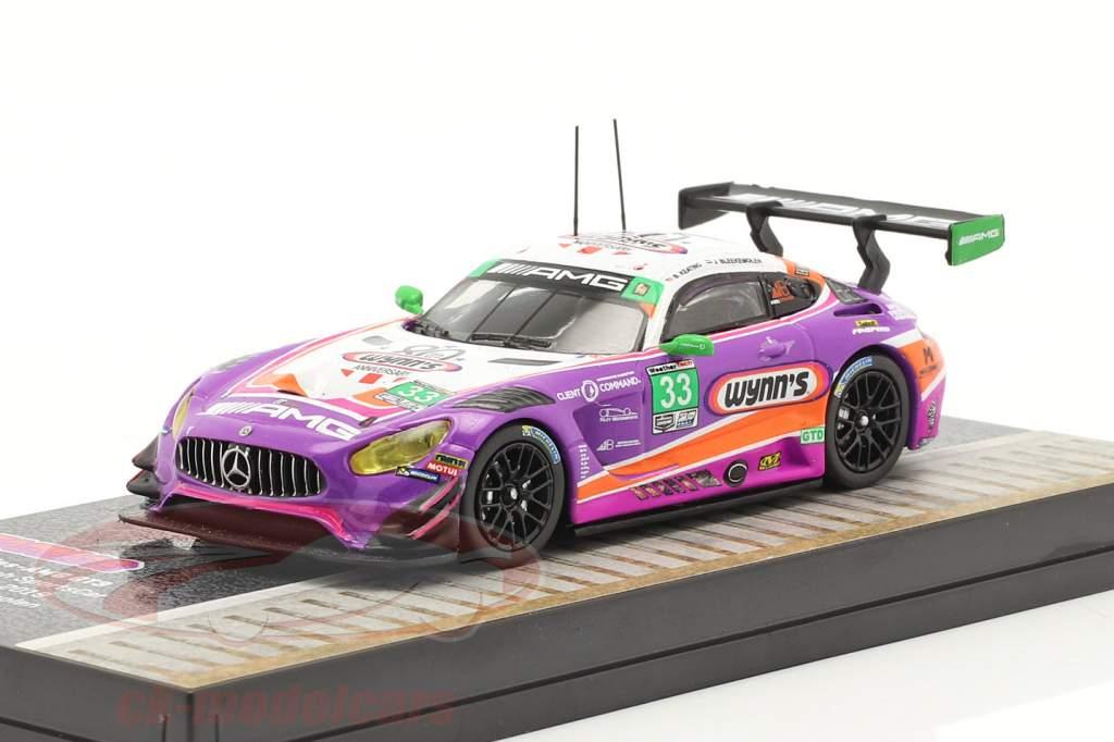 Mercedes-Benz AMG GT3 #33 WeatherTech SportsCar Championship 2019 1:64 Tarmac Works