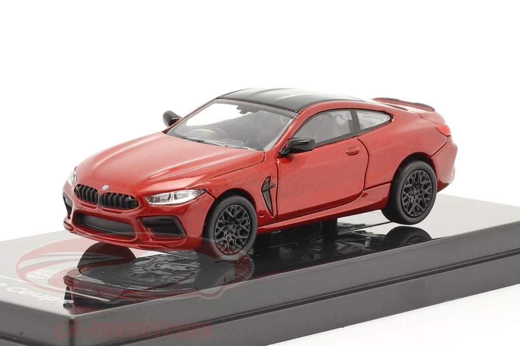 BMW M8 Coupe RHD Byggeår 2018 motegi Rød 1:64 Paragon Models