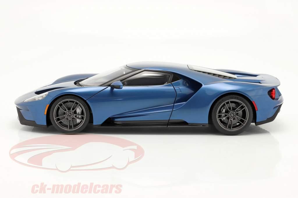 Ford GT Baujahr 2017 liquid blau 1:12 AUTOart