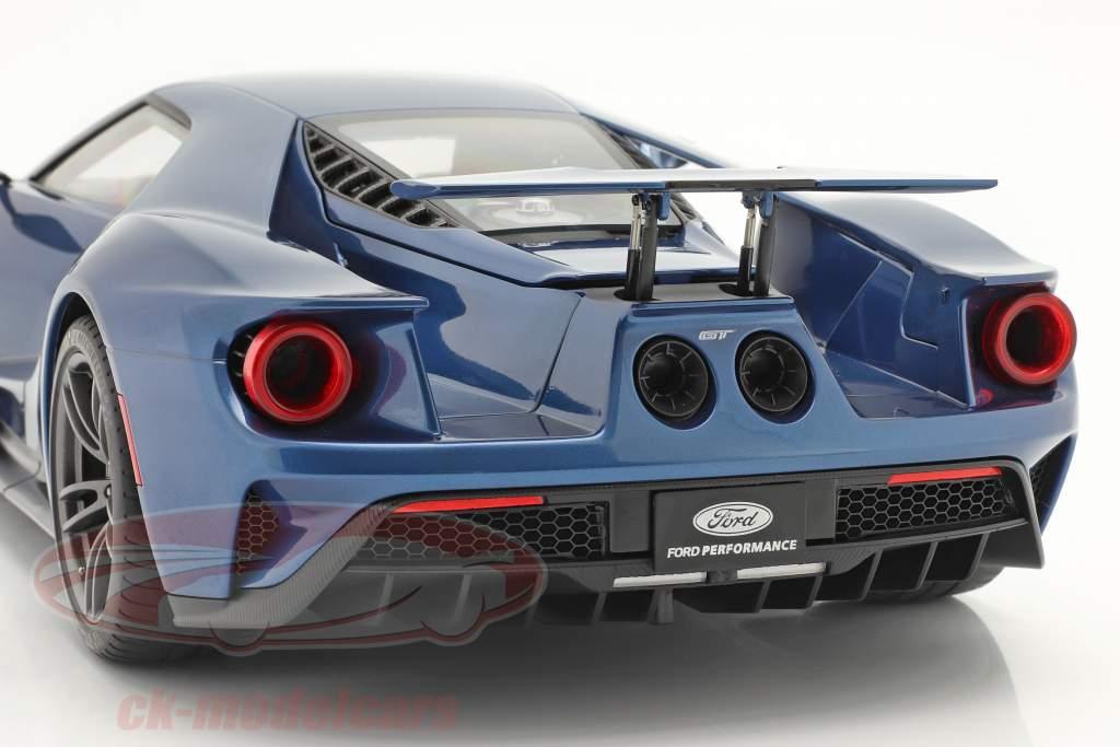 Ford GT Byggeår 2017 væske blå 1:12 AUTOart