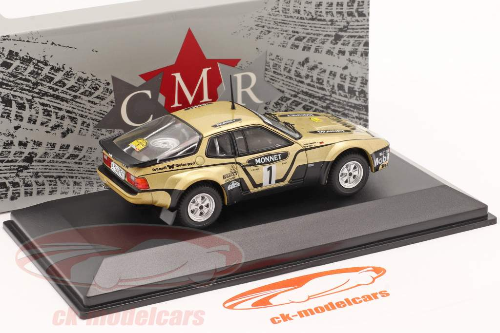 Porsche 924 Carrera GTS #1 Vinder Rallye Hessen 1981 Röhrl, Geistdörfer 1:43 CMR