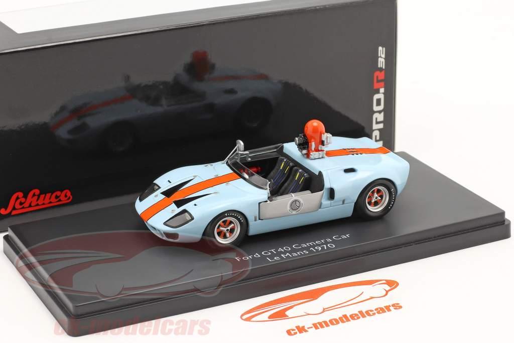 Ford GT40 kamera bil fra den film Le Mans 1970 1:43 Schuco