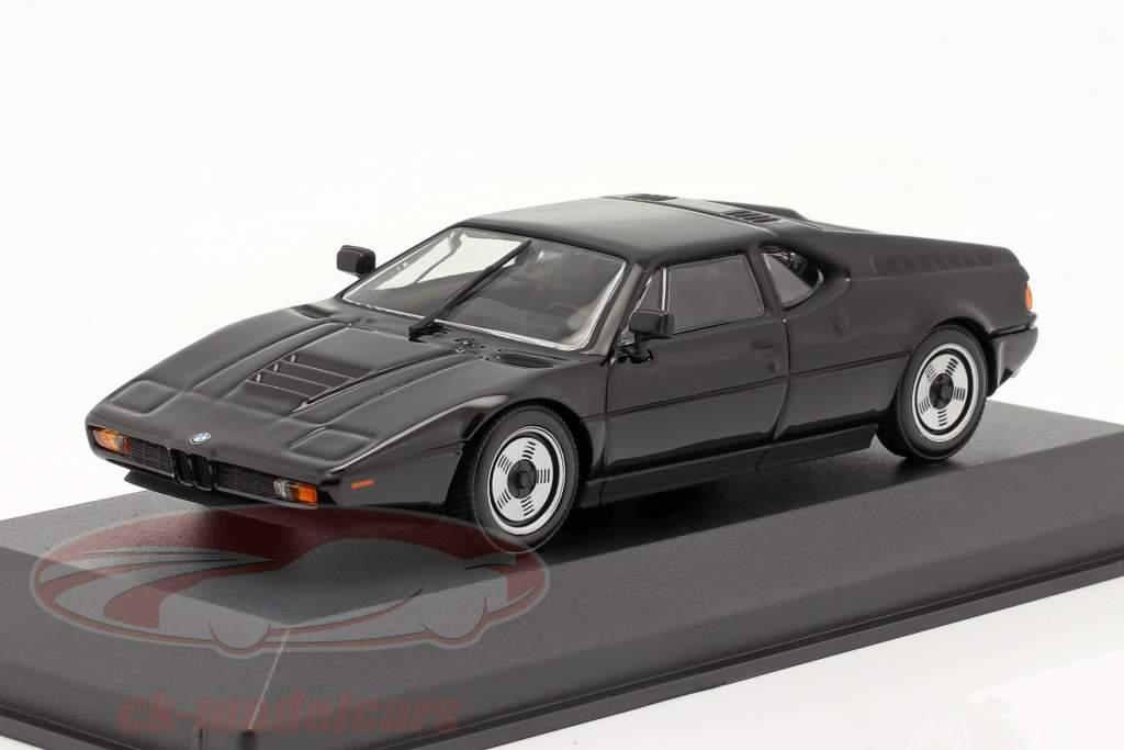 BMW M1 año 1979 negro 1:43 Minichamps