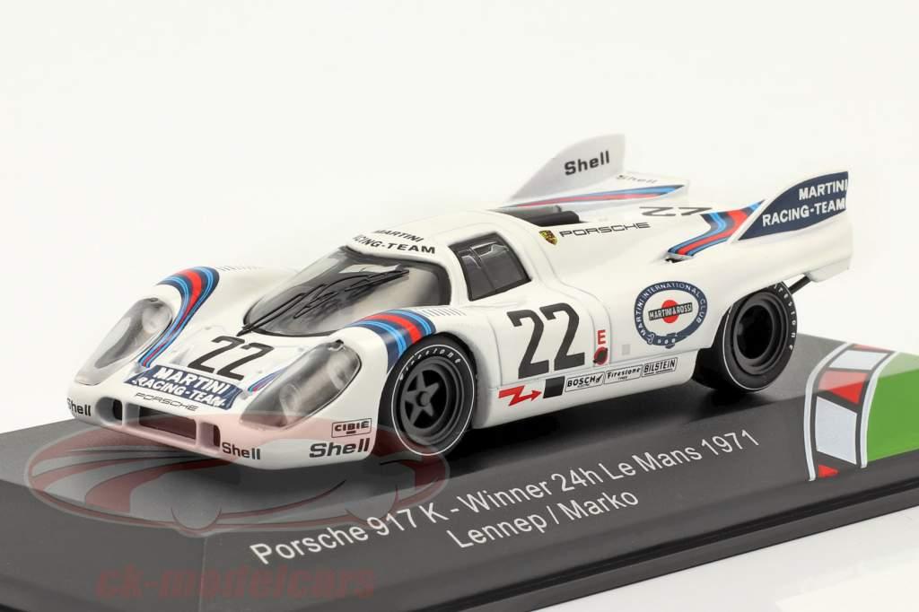 Porsche 917K #22 ganador 24h LeMans 1971 Marko, van Lennep 1:43 CMR