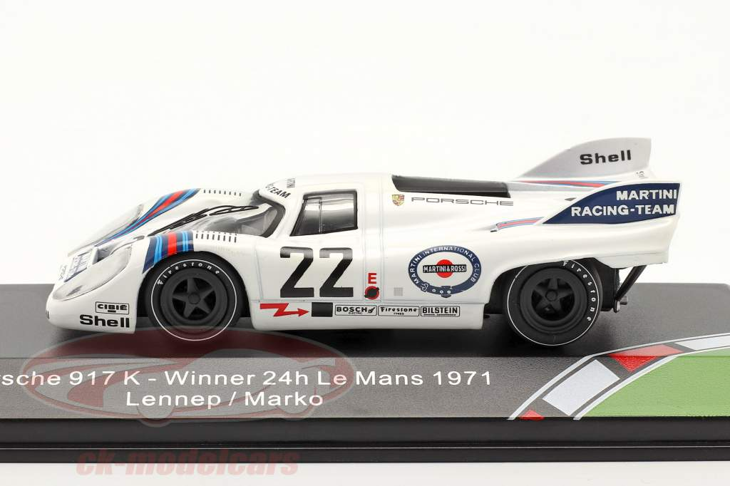 Porsche 917K #22 vencedor 24h LeMans 1971 Marko, van Lennep 1:43 CMR