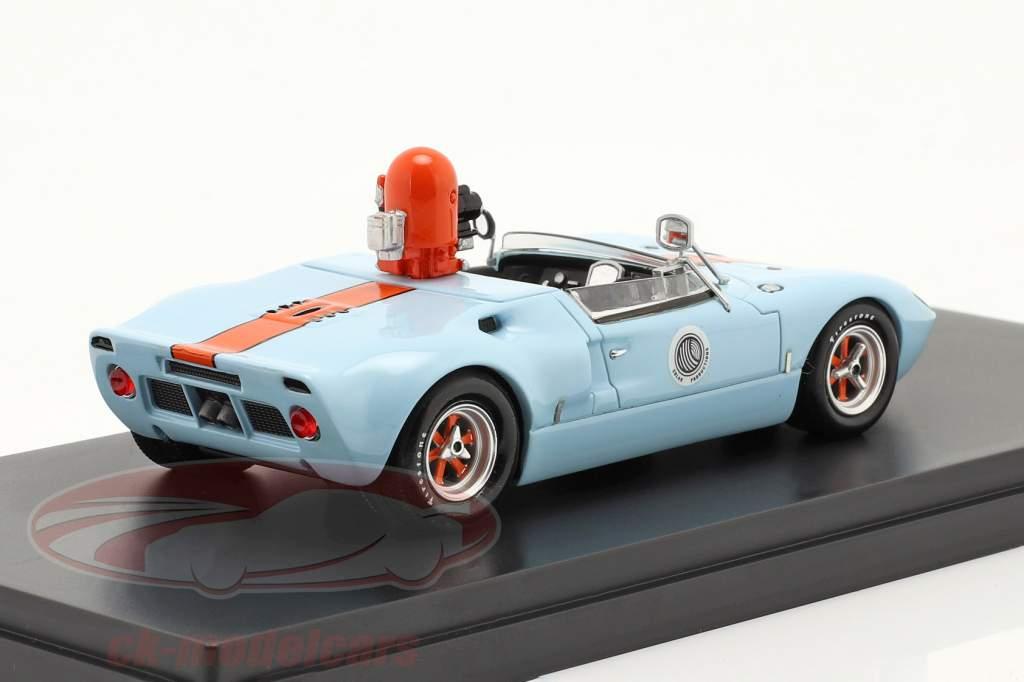 Ford GT40 appareil photo voiture à partir de la film Le Mans 1970 1:43 Schuco