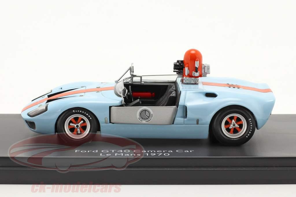 Ford GT40 camera auto van de film Le Mans 1970 1:43 Schuco