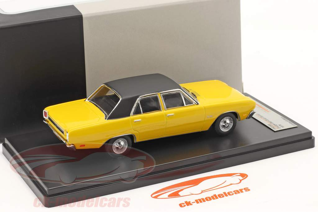 Dodge Dart Gran Sedan Year 1976 yellow 1:43 Premium X
