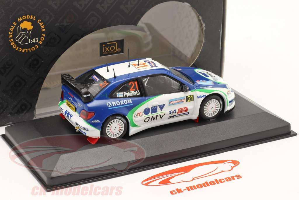 Citroen Xsara WRC #21 Rallye d'Italie 2005 1:43 Ixo