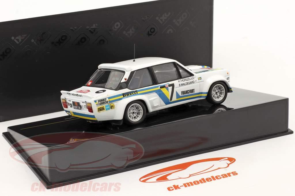 Fiat Abarth 131 #7 Monte Carlo Rally 1980 1:43 Ixo